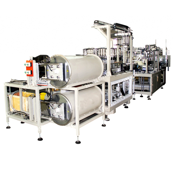 Fully-auto prismatic EV-battery filling machine